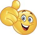 emoji thrum's up