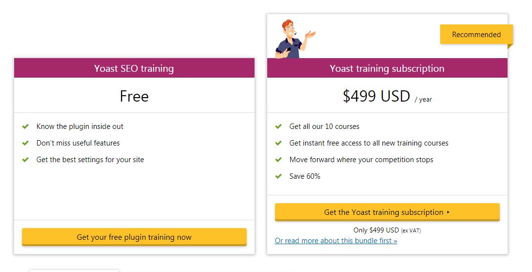 yoast Training