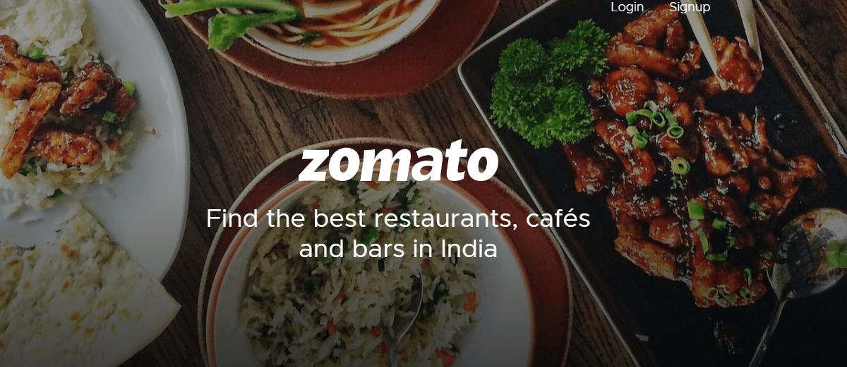 About Zomato